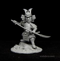 Samurai w/Naginata
