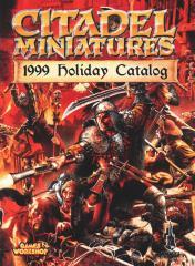 Citadel Miniatures Catalog Holiday 1999