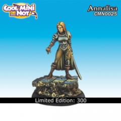 AnnaLisa - Female Warrior (Resin) (Limited Edition)