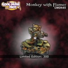 Monkey w/Flamethrower (Limited Edition)