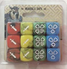 Marble Dice (12) (Kickstarter Exclusive)