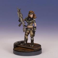 Female Conscript Terrorist