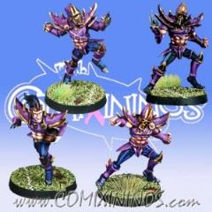 Set of 4 Dark Elf Blitzers
