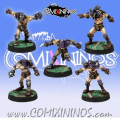 Set of 5 Marauders