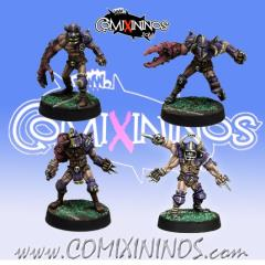 Set of 4 Mutated Marauders
