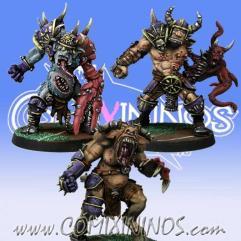 Set of 3 Mutated Big Guys