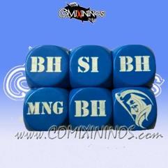 Injury d6 Set - Blue (2)