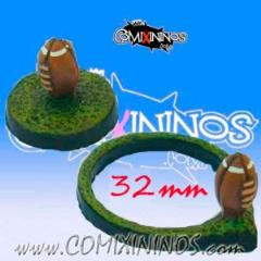 Set of 2 Football Bases
