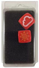 Set of 2 Weather Dice - Red