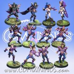 Dark Elf Team #1