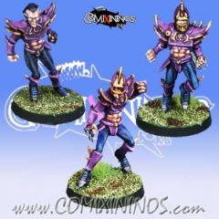 Set B of 3 Dark Elf Linemen