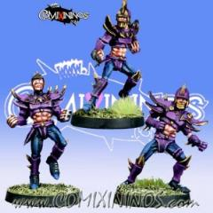 Set A of 3 Dark Elf Linemen