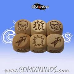 Set of 3 Block Dice