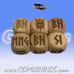 Set of 2 Norse Injury Dice