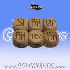 Set of 2 Elvish Injury Dice