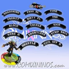 General Puzzle Skill Rings - Black