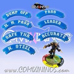 Pass Puzzle Skill Rings - Blue