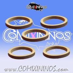 32mm Deluxe Rubber Rings - Grey