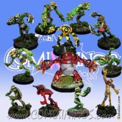 Frogmen Team of 12 players w/Croacxigor