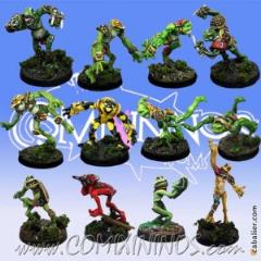 Frogmen Team of 12 players