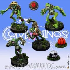 Frogmen Expansion Pack + 2 Footballs