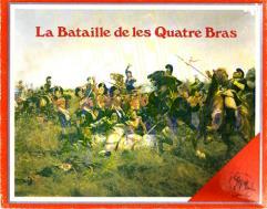 La Bataille de les Quatre Bras (1st Edition, Orange Logo)