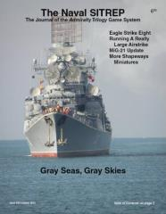 "#43 ""Eagle Strike Eight, Harpoon Scenario - Gray Seas, Gray Skies, MiG-21 Update"""