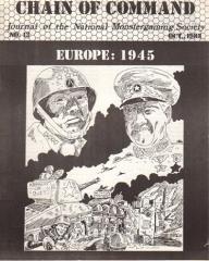 """#13 """"War in Europe Scenario"""""""