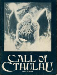Call of Cthulhu (1st Edition) - Rulebook Only!