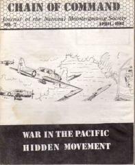 "#7 ""War in the Pacific Hidden Movement"""