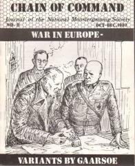 "#9 ""War in Europe Variants"""
