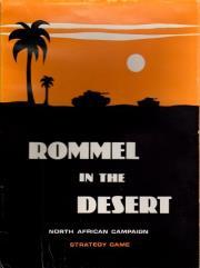 Rommel in the Desert (Game Preserve, True 1st Edition)