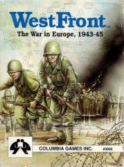 WestFront - The War in Europe, 1943-45 (1st Edition)