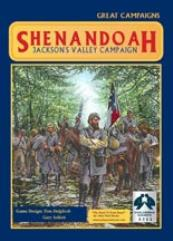 Shenandoah - Jackson's Valley Campaign w/Mounted Map