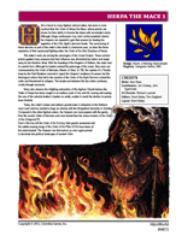 Agrik - Herpa the Mace