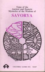 Tome of Ancient and Esoteric Mysteries of the Powers of Savorya