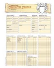 Character Sheets (25)