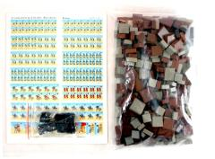 Ancients - Blocks, Dice, & Stickers Lot