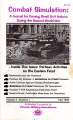 "Vol. 2, #1 ""Partisan Activities on the Eastern Front"""
