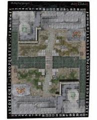 "Keeper's Keep Battlemat - 24"" x 36"", 1"" Square Grid"