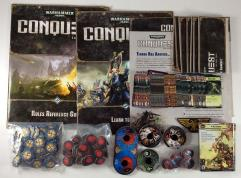 Conquest Card Game Collection #3 - Base Game + 8 Expansions, Over 750 Cards!!!