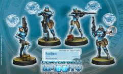 Fusiliers w/HMG, Missle Launcher, Sniper Rifle, Hacker