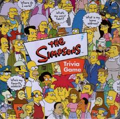Simpsons, The - Trivia Game
