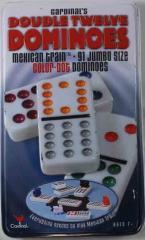 Dominoes - Double Twelve Color Dot
