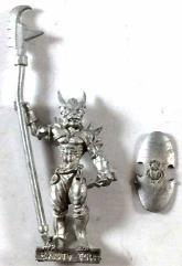 Basti Champion w/Polearm & Shield #1