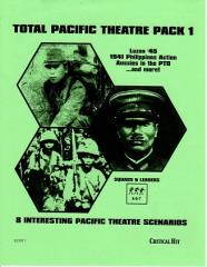 Total Pacific Theater Pack #1 (2nd Printing)