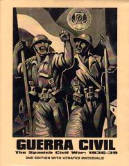 Guerra Civil - The Spanish Civil War 1936-39 (Cardstock Map Edition)