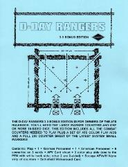 D-Day Rangers (3rd Edition, Cardstock Map Edition)