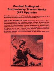 Combat! Stalingrad - Dzerhezinsky Tractor Works (Cardstock Map Edition, ATS Upgrade)