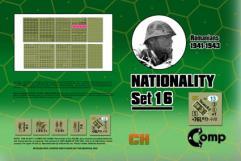 Nationality Set #16 - Romanian 1941-43
